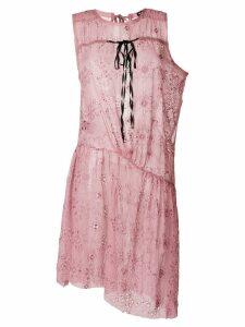 Ann Demeulemeester Carlatti dress - Pink