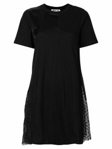 McQ Alexander McQueen asymmetric T-shirt dress - Black