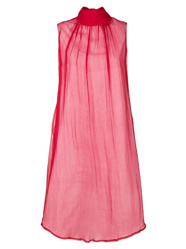 Société Anonyme Summer Turtle dress - Red