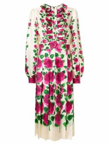 Gucci Rose Garden print dress - Neutrals