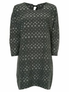 Uma Wang dotted mini dress - Black