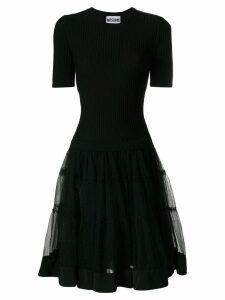 Moschino mini tutu T-shirt dress - Black