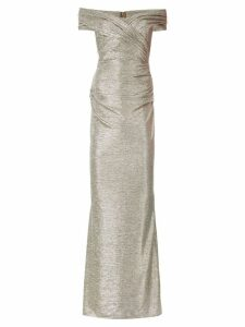 Talbot Runhof Copine3 glitter dress - Metallic