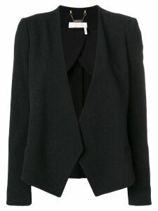 Chloé asymmetric blazer - Black