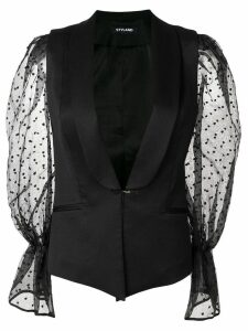 Styland sleeveless blazer - Black