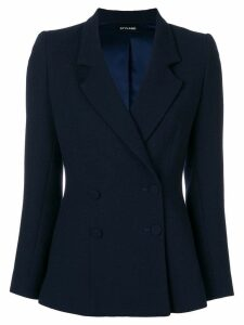 Styland double-breasted blazer - Blue