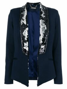 Styland sequin embellished blazer - Blue