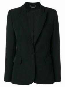 Styland slim-fit buttoned blazer - Black