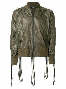 KTZ corded bomber jacket - Green