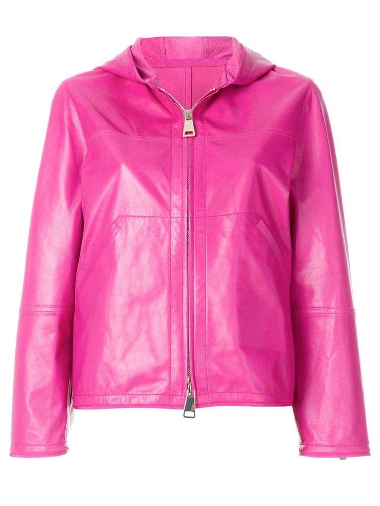 Sylvie Schimmel hooded zip up jacket - Pink