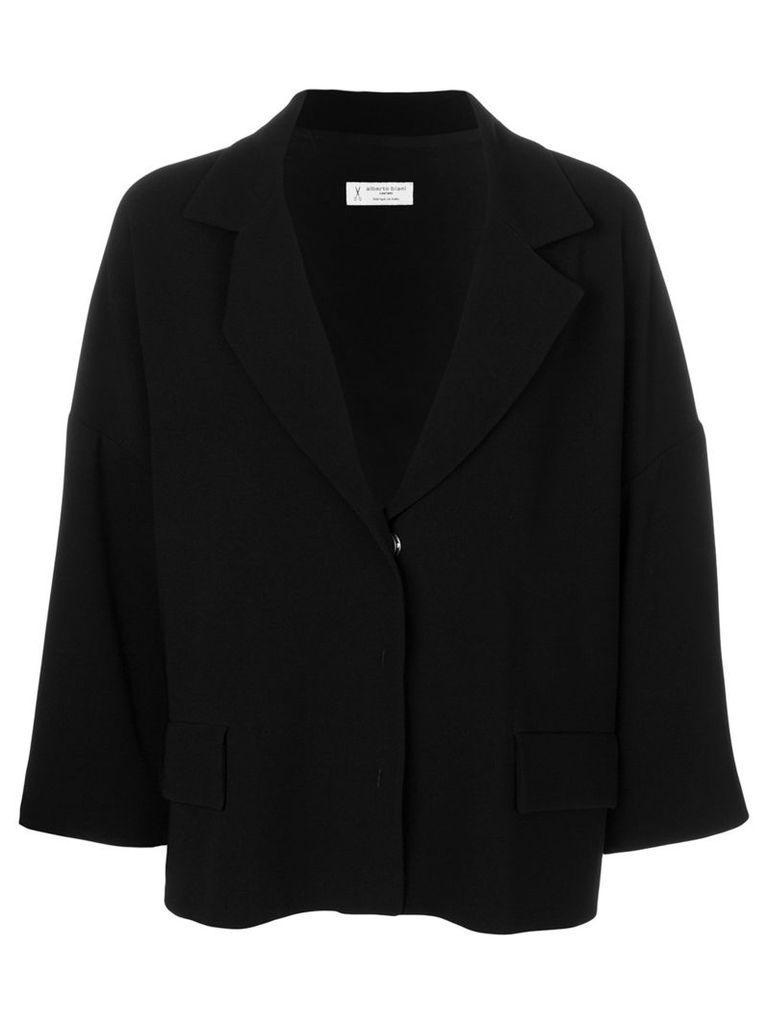 Alberto Biani single breasted jacket - Black