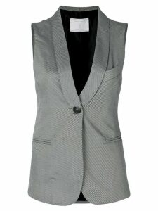 Société Anonyme Perfect Palace striped waistcoat - White