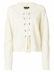 Isabel Marant Lacy jumper - White