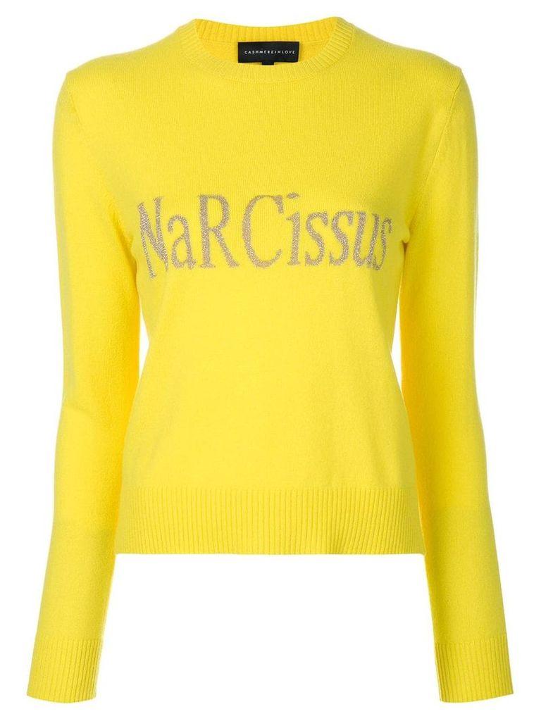 Cashmere In Love Kristie sweater - Yellow