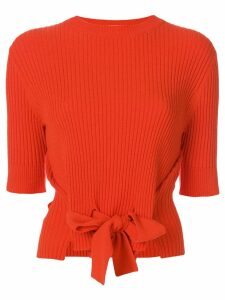 Cashmere In Love Dee cropped sweater - Yellow