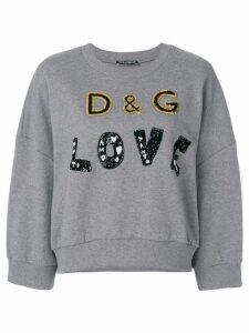 Dolce & Gabbana D & G Love jumper - Grey