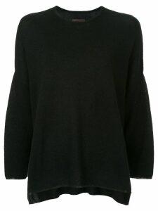Oyuna crew neck jumper - Black
