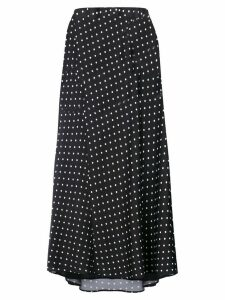 Haider Ackermann polka dots long skirt - Black