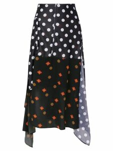 JW Anderson panelled pattern skirt - Multicolour