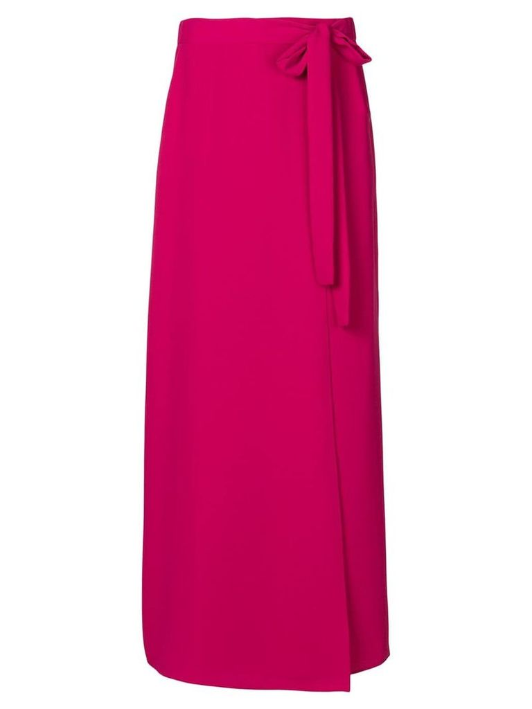P.A.R.O.S.H. long casual skirt - Pink