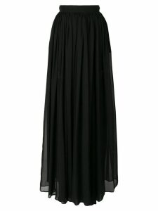 Elie Saab long pleated skirt - Black