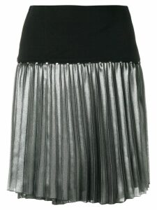 Versace Jeans metallic pleat skirt - Multicolour
