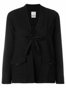 Visvim tie front blouse - Black