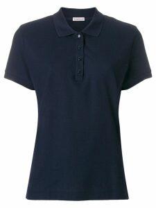 Moncler slim fit polo shirt - Blue