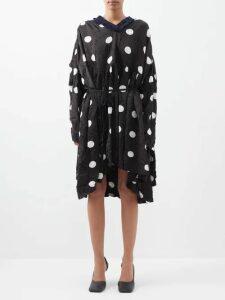 Borgo De Nor - Josephine Off The Shoulder Crepe Dress - Womens - Red Print
