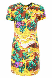 Dsquared2 Printed Silk Dress