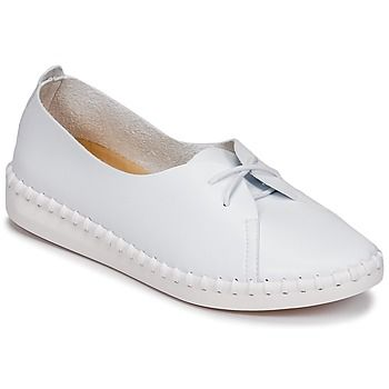 LPB Shoes  DEMY  women's Casual Shoes in White