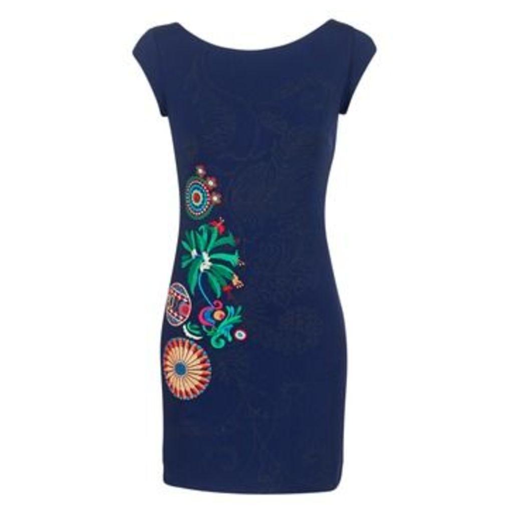 Desigual  APELDA  women's Dress in Blue