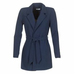 Only  DICTE RUNA  women's Trench Coat in Blue