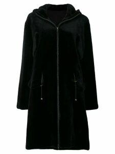 Liska sheared mink fur coat - Black