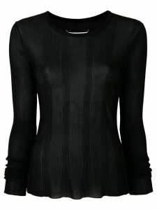 Maison Margiela long-sleeve sweater - Black