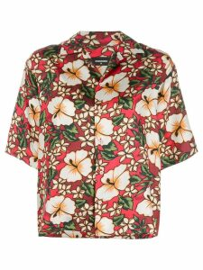 Dsquared2 Hawaiian floral-print shirt - Multicolour