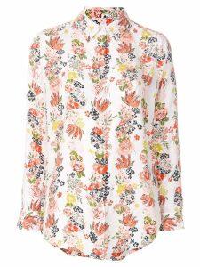Equipment floral stripe shirt - Multicolour