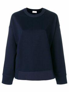 Moncler loose fit sweatshirt - Blue