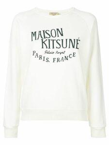 Maison Kitsuné Palais Royal sweatshirt - White
