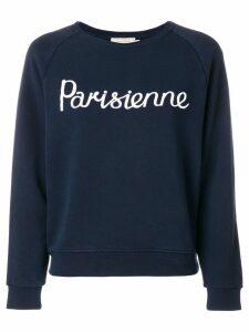 Maison Kitsuné Parisienne sweatshirt - Blue