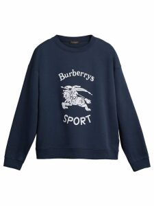 Burberry reissued 1987 sweatshirt - Blue