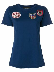Mr & Mrs Italy front patches T-shirt - Blue