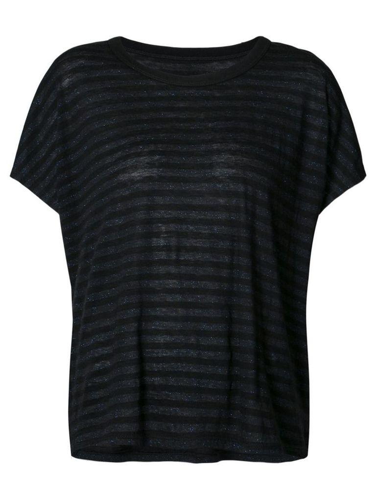 Rta striped T-shirt - Black