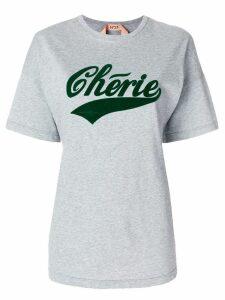Nº21 Cherie oversized T-shirt - Grey