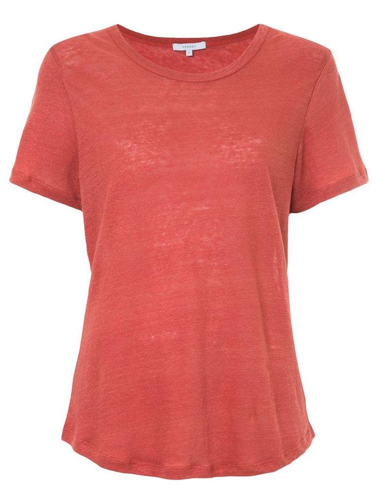 Venroy crew neck T-shirt - Red