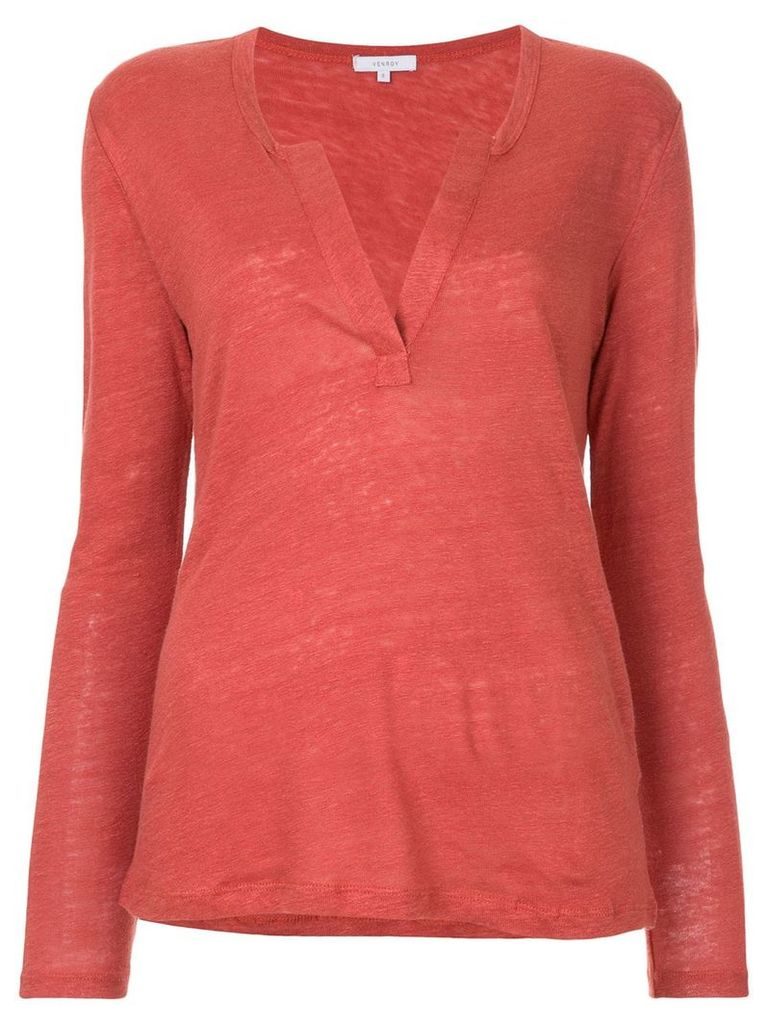 Venroy Henley T-shirt - Red