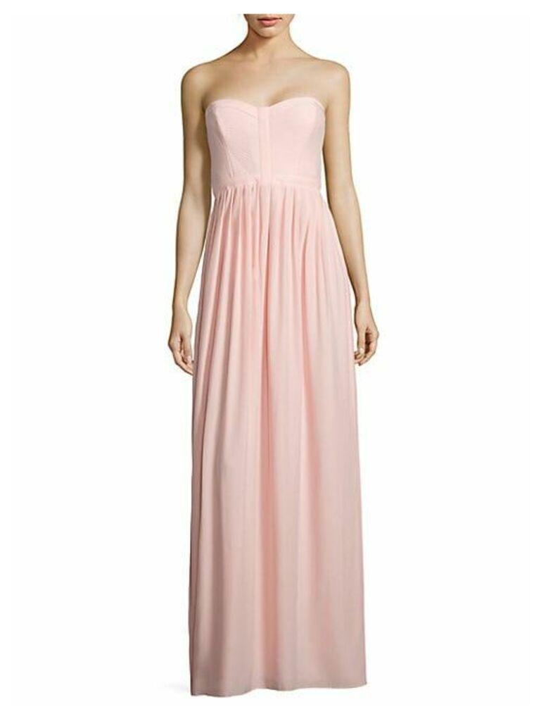 Bayou Strapless Silk Gown