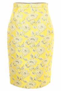 Prada Lurex Jacquard Skirt