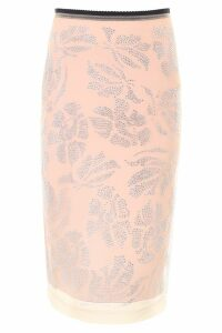 N.21 Embroidered Tulle Skirt