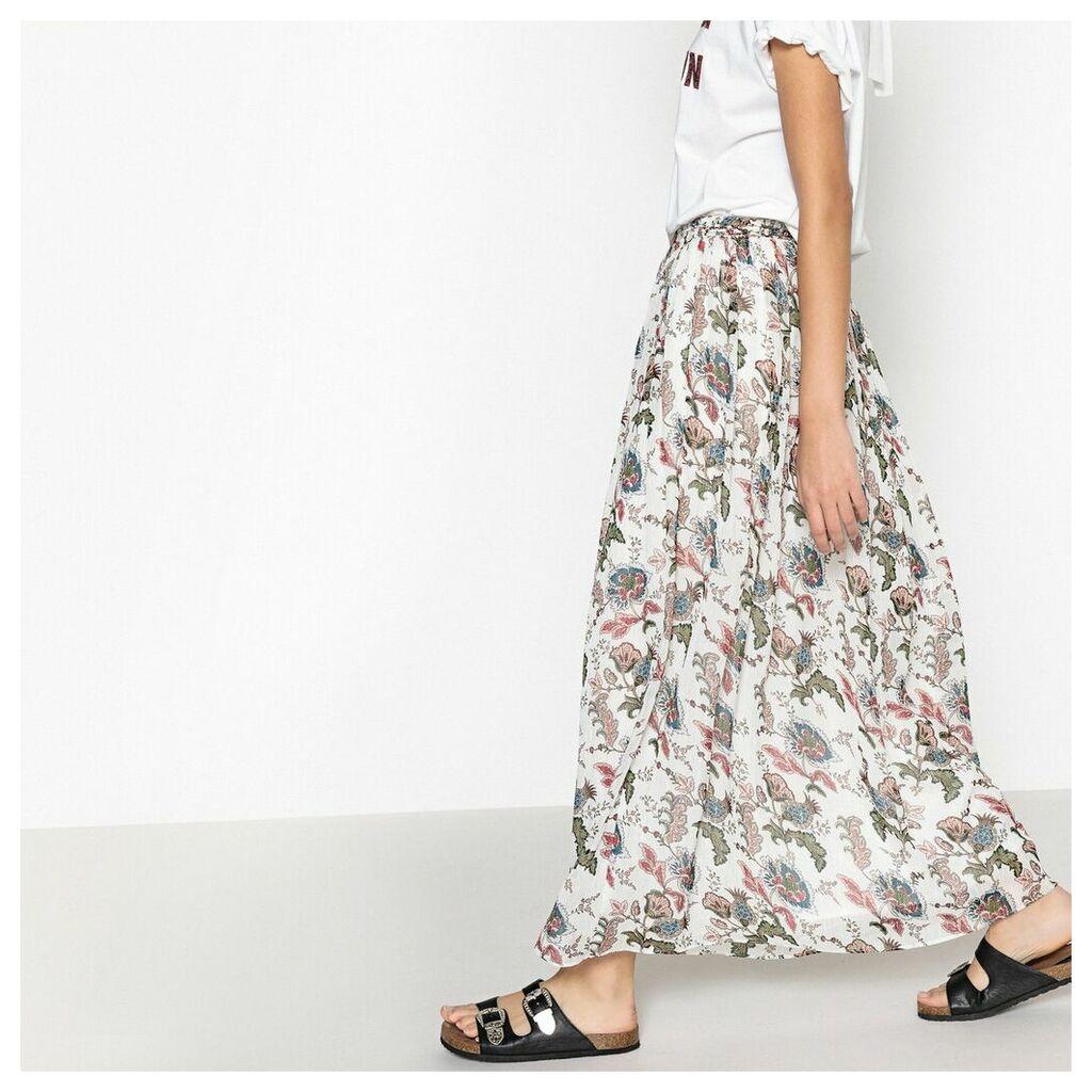 Felix Floral Print Midi Skirt